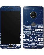 Dallas Cowboys Blast Moto G5 Plus Skin