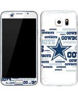 Dallas Cowboys Blue Blast Galaxy S6 Skin