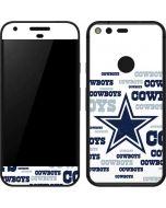Dallas Cowboys Blue Blast Google Pixel Skin