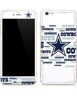 Dallas Cowboys Blue Blast iPhone 6/6s Plus Skin