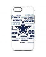 Dallas Cowboys Blue Blast iPhone 8 Pro Case