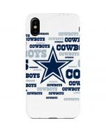 Dallas Cowboys Blue Blast iPhone XS Max Lite Case