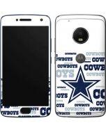 Dallas Cowboys Blue Blast Moto G5 Plus Skin