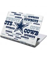 Dallas Cowboys Blue Blast Yoga 910 2-in-1 14in Touch-Screen Skin