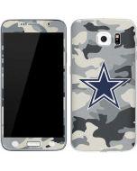 Dallas Cowboys Camo Galaxy S6 Skin
