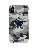 Dallas Cowboys Camo iPhone XS Max Lite Case