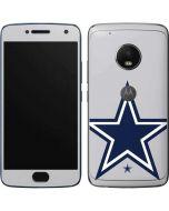 Dallas Cowboys Large Logo Moto G5 Plus Skin
