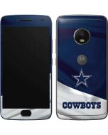 Dallas Cowboys Moto G5 Plus Skin