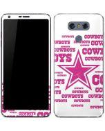 Dallas Cowboys Pink Blast LG G6 Skin