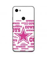 Dallas Cowboys Pink Blast Google Pixel 3a Skin