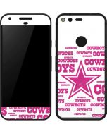 Dallas Cowboys Pink Blast Google Pixel Skin