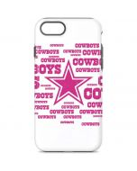 Dallas Cowboys Pink Blast iPhone 8 Pro Case