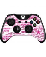 Dallas Cowboys Pink Blast Xbox One Controller Skin