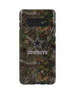 Dallas Cowboys Realtree Xtra Green Camo Galaxy S10 Plus Pro Case