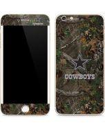 Dallas Cowboys Realtree Xtra Green Camo iPhone 6/6s Plus Skin