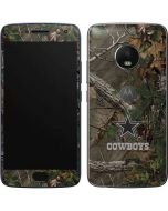 Dallas Cowboys Realtree Xtra Green Camo Moto G5 Plus Skin