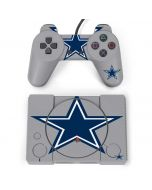 Dallas Cowboys Retro Logo PlayStation Classic Bundle Skin
