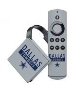 Dallas Cowboys Silver Performance Series Amazon Fire TV Skin