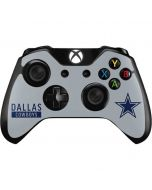 Dallas Cowboys Silver Performance Series Xbox One Controller Skin