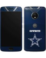 Dallas Cowboys Team Jersey Moto G5 Plus Skin