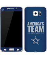 Dallas Cowboys Team Motto Galaxy S6 Skin