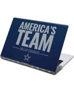 Dallas Cowboys Team Motto Yoga 910 2-in-1 14in Touch-Screen Skin