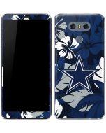 Dallas Cowboys Tropical Print LG G6 Skin
