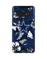 Dallas Cowboys Tropical Print Galaxy S10 Plus Pro Case