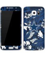 Dallas Cowboys Tropical Print Galaxy S6 Skin