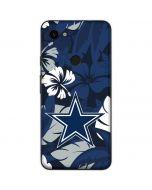 Dallas Cowboys Tropical Print Google Pixel 3a Skin