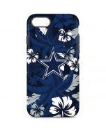 Dallas Cowboys Tropical Print iPhone 8 Pro Case