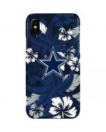 Dallas Cowboys Tropical Print iPhone XS Max Lite Case