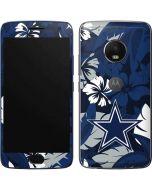 Dallas Cowboys Tropical Print Moto G5 Plus Skin