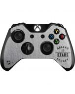 Dallas Stars Black Text Xbox One Controller Skin
