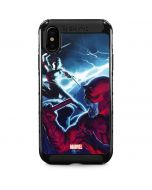 Daredevil vs Elektra iPhone XS Max Cargo Case
