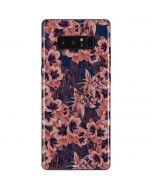 Dark Tapestry Floral Galaxy Note 8 Skin