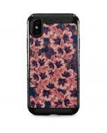 Dark Tapestry Floral iPhone X Cargo Case