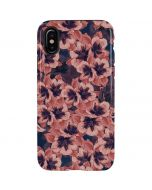 Dark Tapestry Floral iPhone X Pro Case