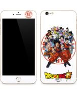 Dragon Ball Super Group iPhone 6/6s Plus Skin