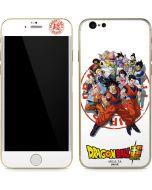 Dragon Ball Super Group iPhone 6/6s Skin