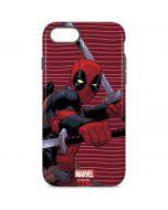 Deadpool Dual Wield iPhone 8 Pro Case