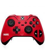 Deadpool Logo Red Xbox One Elite Controller Skin