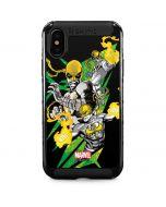Defender Iron Fist iPhone XS Max Cargo Case