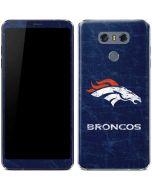 Denver Broncos - Distressed LG G6 Skin