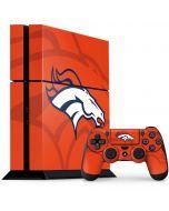 Denver Broncos Double Vision PS4 Console and Controller Bundle Skin