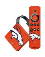 Denver Broncos Large Logo Amazon Fire TV Skin