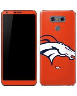 Denver Broncos Large Logo LG G6 Skin