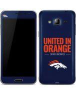 Denver Broncos Team Motto Galaxy J3 Skin