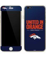 Denver Broncos Team Motto iPhone 6/6s Skin