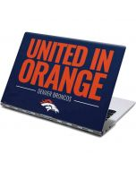 Denver Broncos Team Motto Yoga 910 2-in-1 14in Touch-Screen Skin